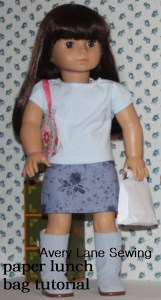 doll size paper lunch sack tutorial