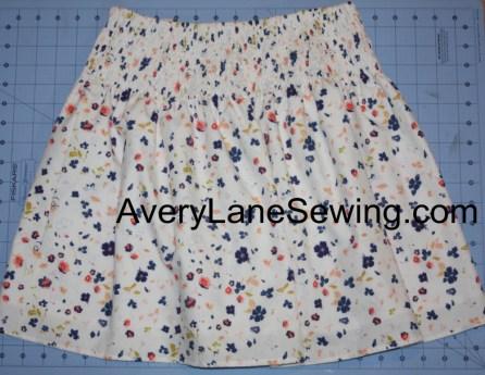 Avery Lane Sewing Blog Shirred Skirt Tutorial