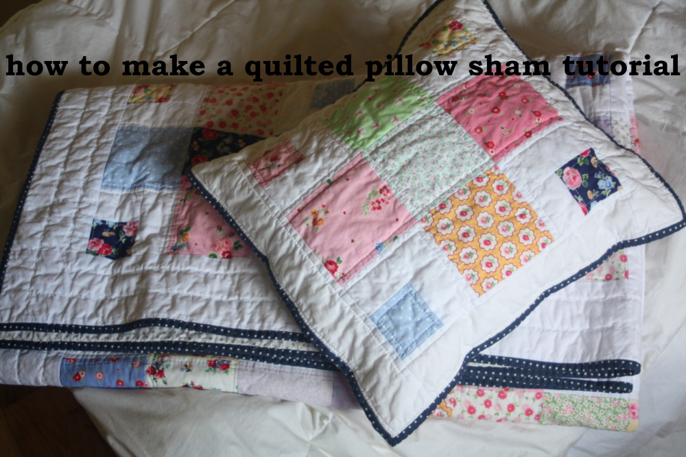 A Quilted Sham Tutorial - Avery Lane Sewing : quilted pillow sham pattern - Adamdwight.com