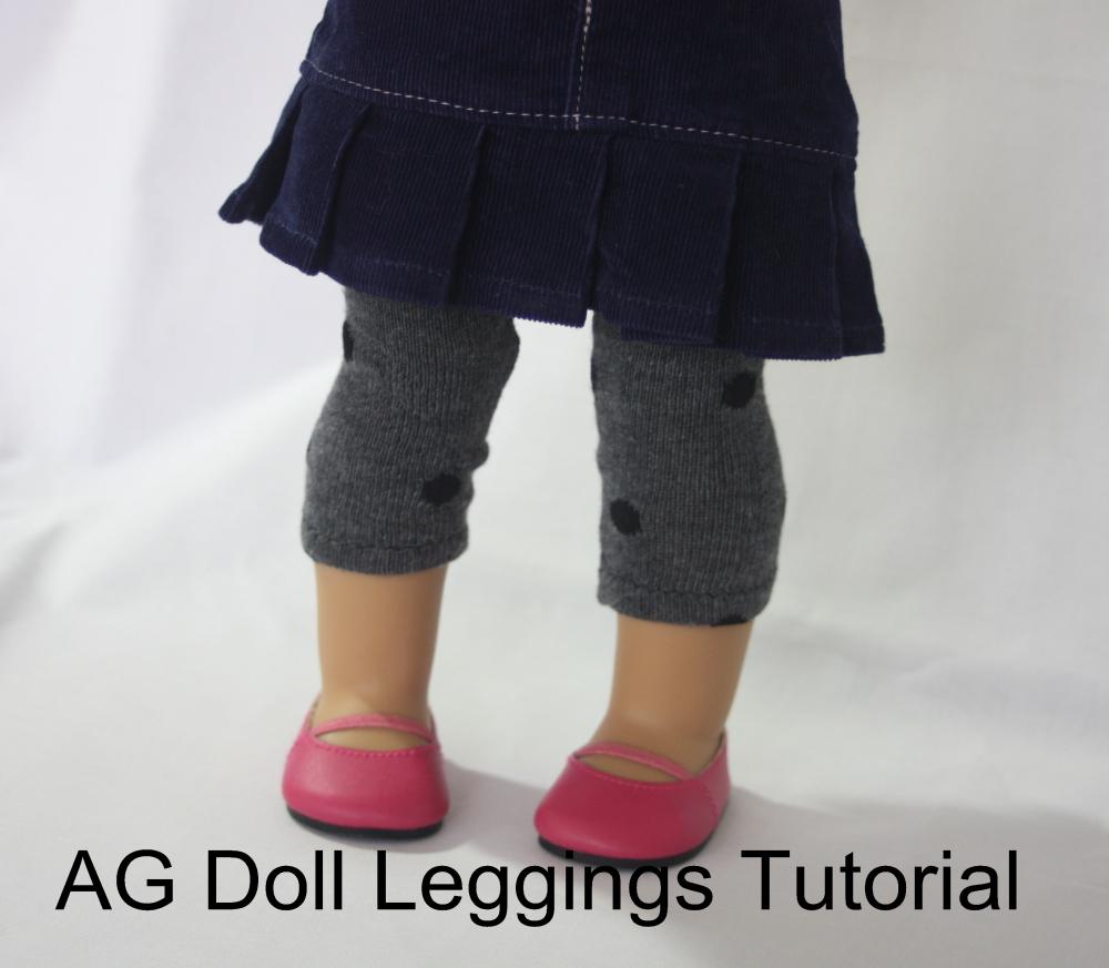 Tutorial: Leggings for Dolls