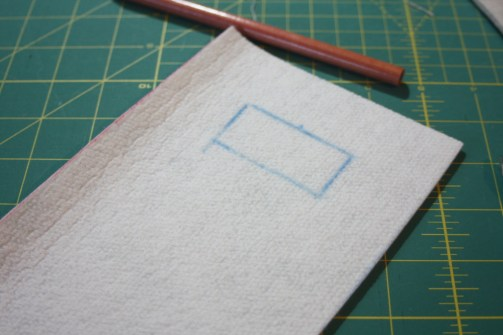 Sewing tutorial for making phone charging station  5
