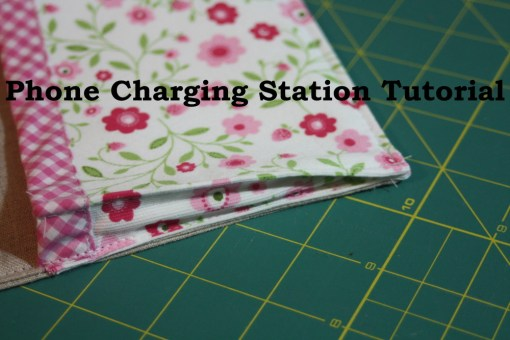 Sewing tutorial for making phone charging station on AveryLaneSewing.com  blog 1