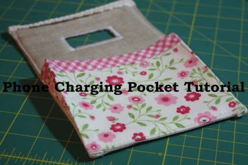 Sewing tutorial for making phone charging station on AveryLaneSewing.com  blog 3