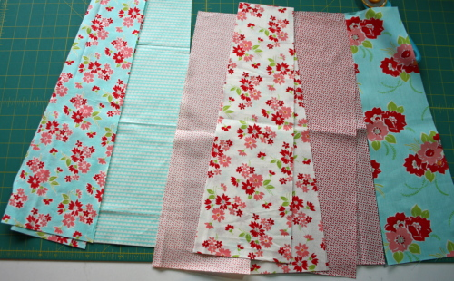 11 Fat Quarter Bundle Skirt Country Skirt Sewing  Tutorial 025