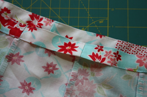 15a Fat Quarter Bundle Skirt Country Skirt Sewing  Tutorial 044