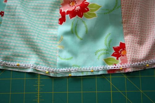 19 Fat Quarter Bundle Skirt Country Skirt Sewing  Tutorial 050