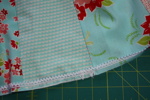 19 Fat Quarter Bundle Skirt Country Skirt Sewing  Tutorial 051