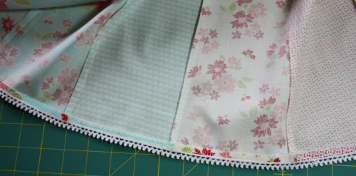 19a Fat Quarter Bundle Skirt Country Skirt Sewing  Tutorial 054