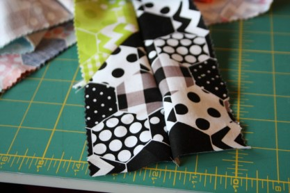 Doll Quilt Tutorial Jelly Roll Race 9