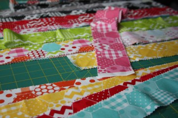 Doll Quilt Tutorial Jelly Roll Race