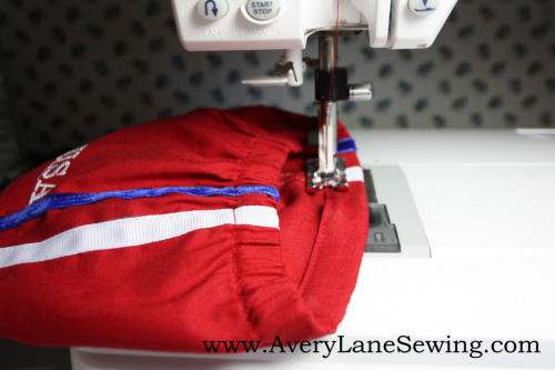 Athletic shorts sew along sew in style book 027