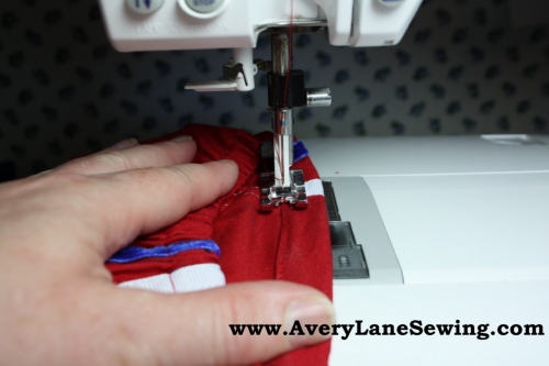 Athletic shorts sew along sew in style book 028