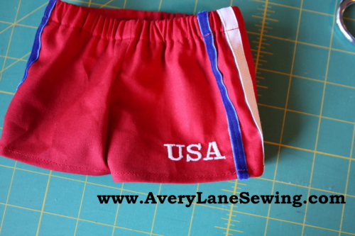 Athletic shorts sew along sew in style book 031