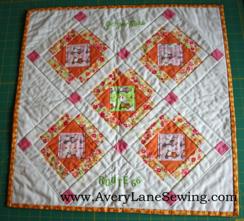 Route 66 and a New Doll Quilt Pattern - Avery Lane Sewing : route 66 quilt pattern - Adamdwight.com