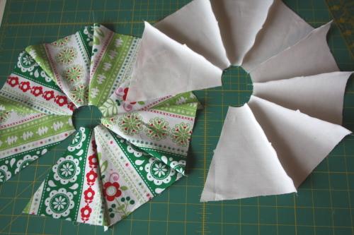 Too Cute Magazine mini tree skirt tutorial blog sew along 7
