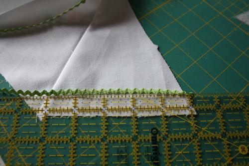 Sew Cute Magazine mini tree skirt tutorial blog sew along 8b