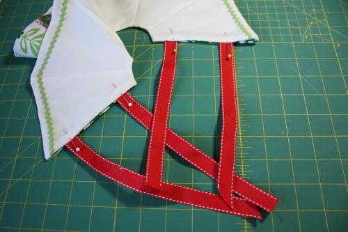 Too Cute Doll Sewing Magazine mini tree skirt tutorial blog sew along 4