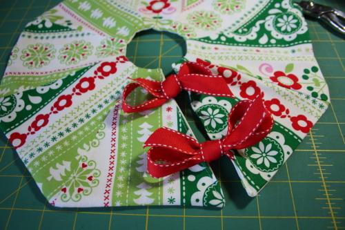 Too Cute Doll Sewing Magazine mini tree skirt tutorial blog sew along 5