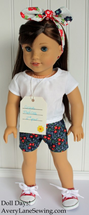 Doll Days free sewing pattern for 18 inch dolls AveryLaneSewing.com blog post