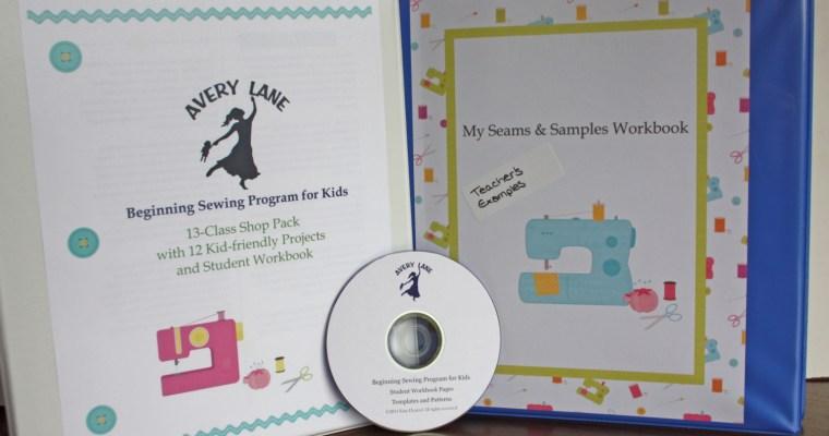New! Beginning Sewing Program for Kids
