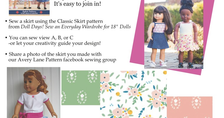 Doll Days Skirt Challenge this Week!