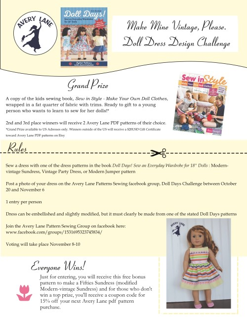 Doll Dress Design Challenge Get This Free 18 Doll Clothes Pattern