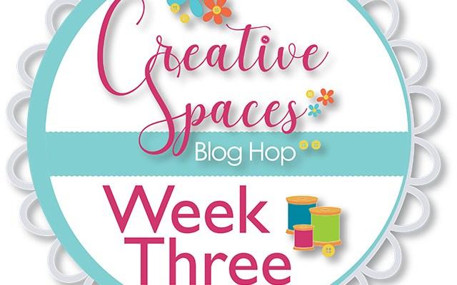 Creative Spaces Blog Hop – Week Three – Organizing Tips