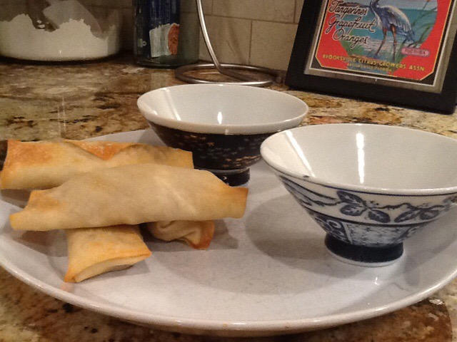 Vegetarian Baked Egg Rolls – Sounded like a good idea at the time