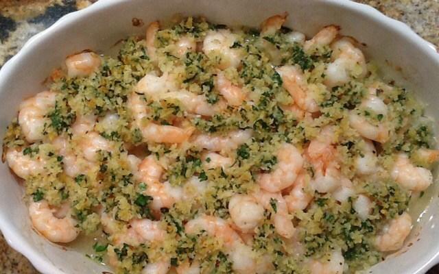 Oven Baked Shrimp