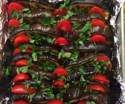 Ottolenghi's Eggplant Cheesecake – OMG