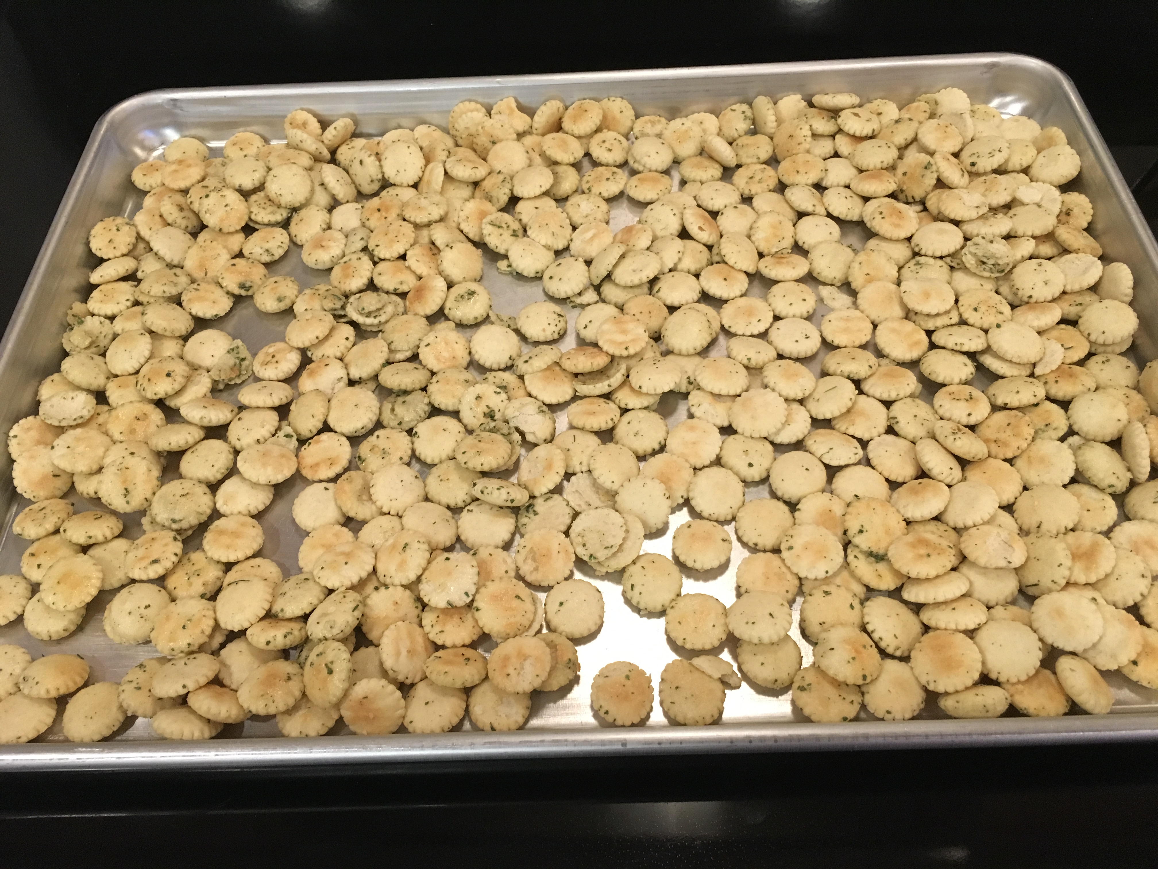 Savory Oyster Crackers