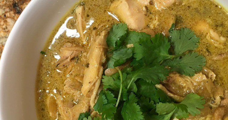 Coconut Chicken Curry in the Crockpot