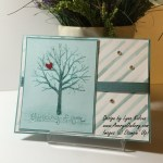 Stampin Up Irresistibly Yours DSP Sheltering Tree AverysOwlery.com