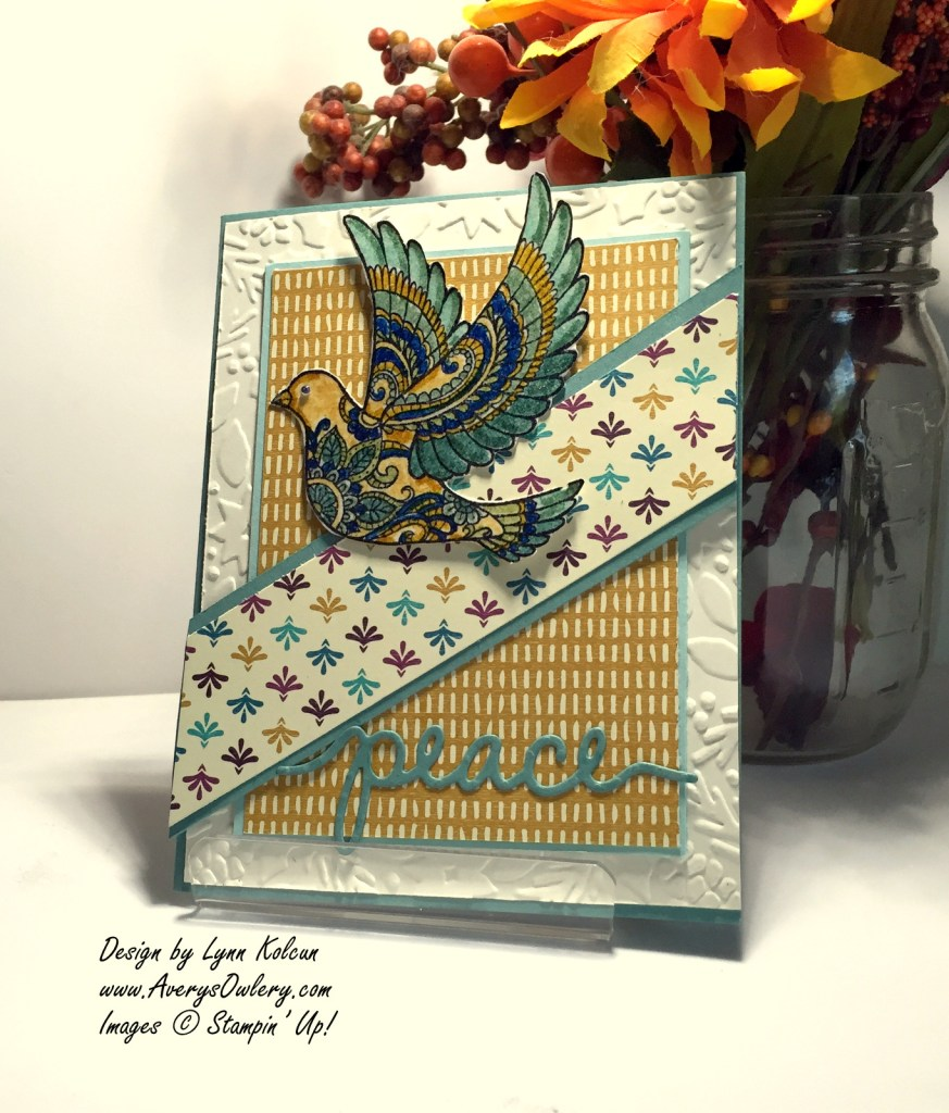 Stampin Up Dove of Peace AverysOwlery.com