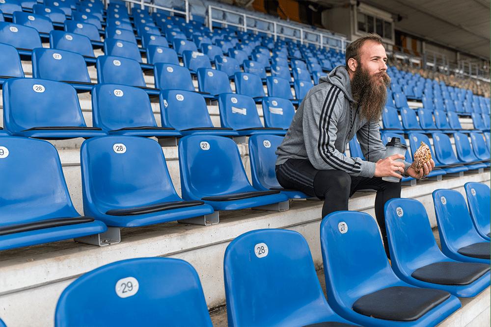#veganchallenge mit Marco Sailer, Profi-Fußballer & Veganer