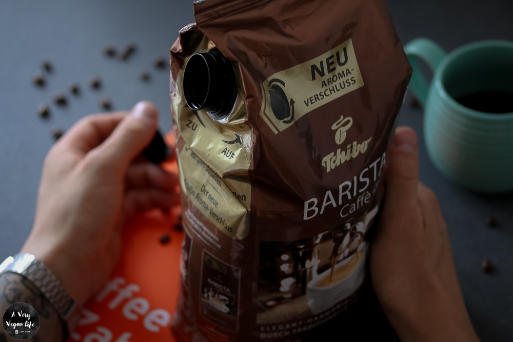 Kaffee-Aromaverschluss