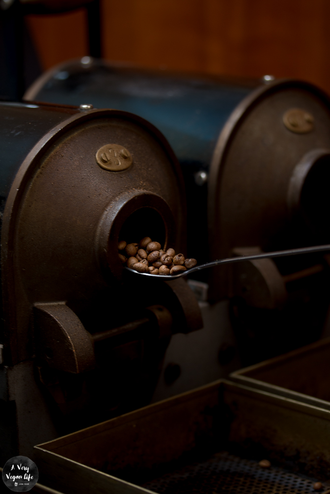 Kaffee-rösten-Trommel