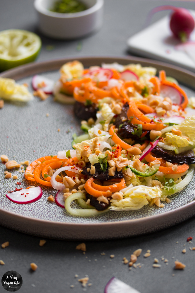 Spiralschneider-Salat-hoch