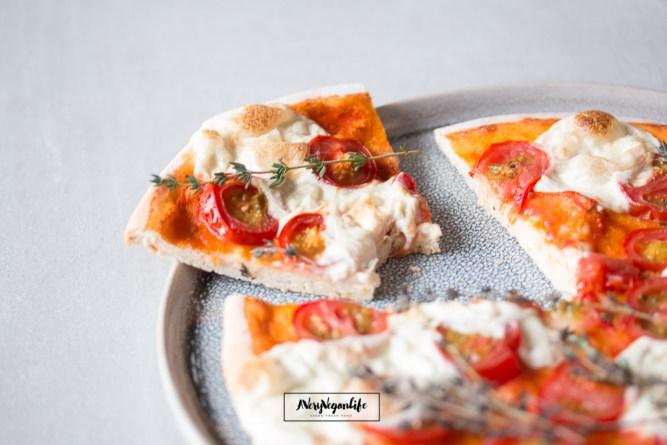 Laktoserfreier Mozzarella aus Cashews