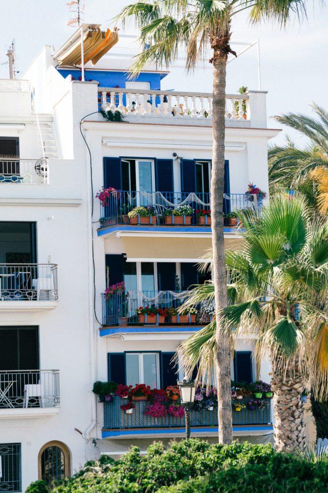 Ehemaliges Fischerhaus in Sitges