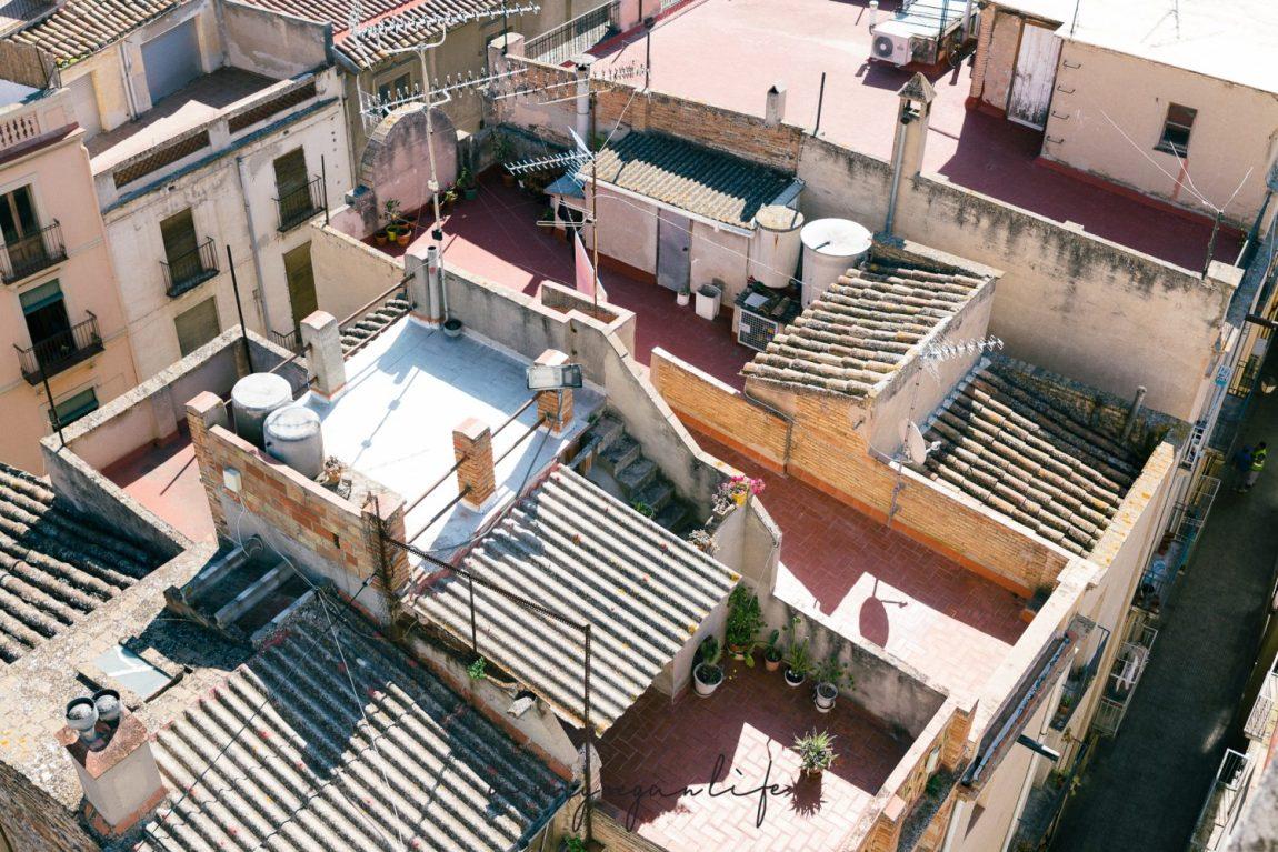 Vilafranca del Penedès, Dachterrassen