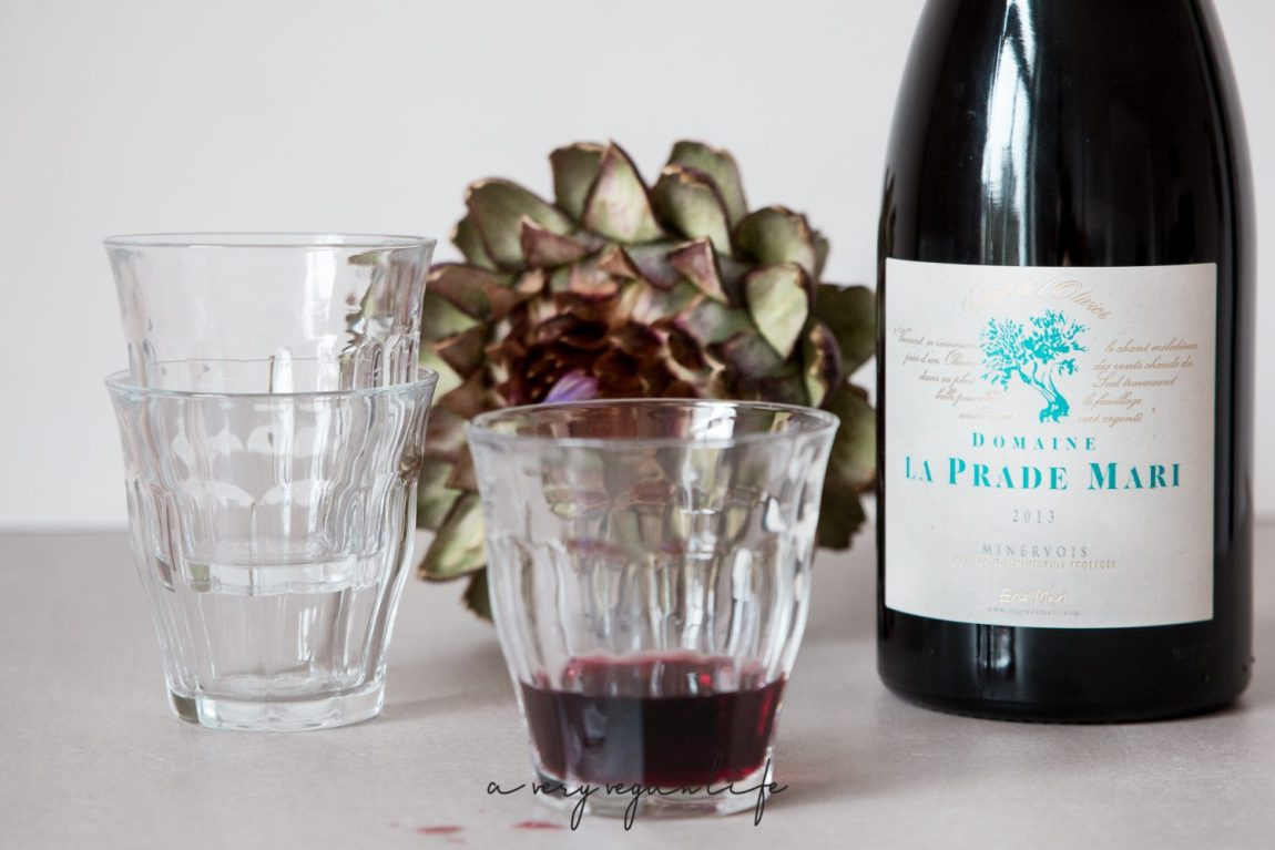 Veganer Rotwein von Eric Mari