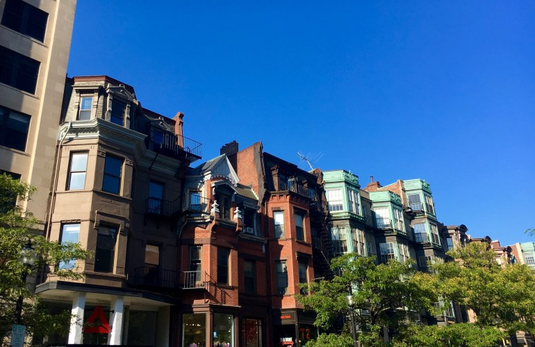newbury street-boston