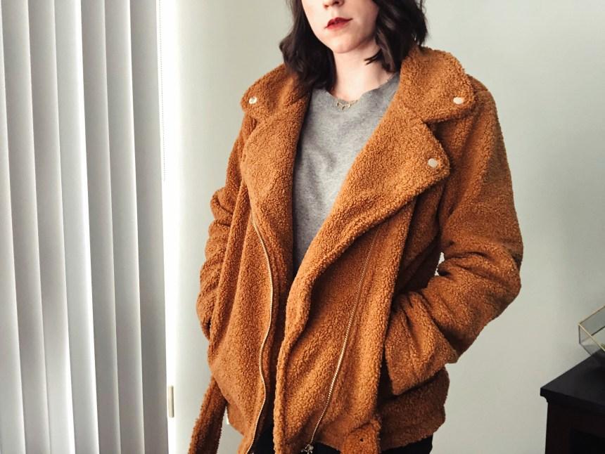 brown teddy coat averywalts.com