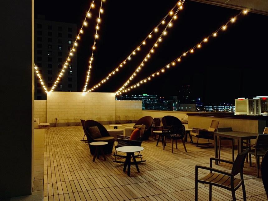 omni rooftop pool