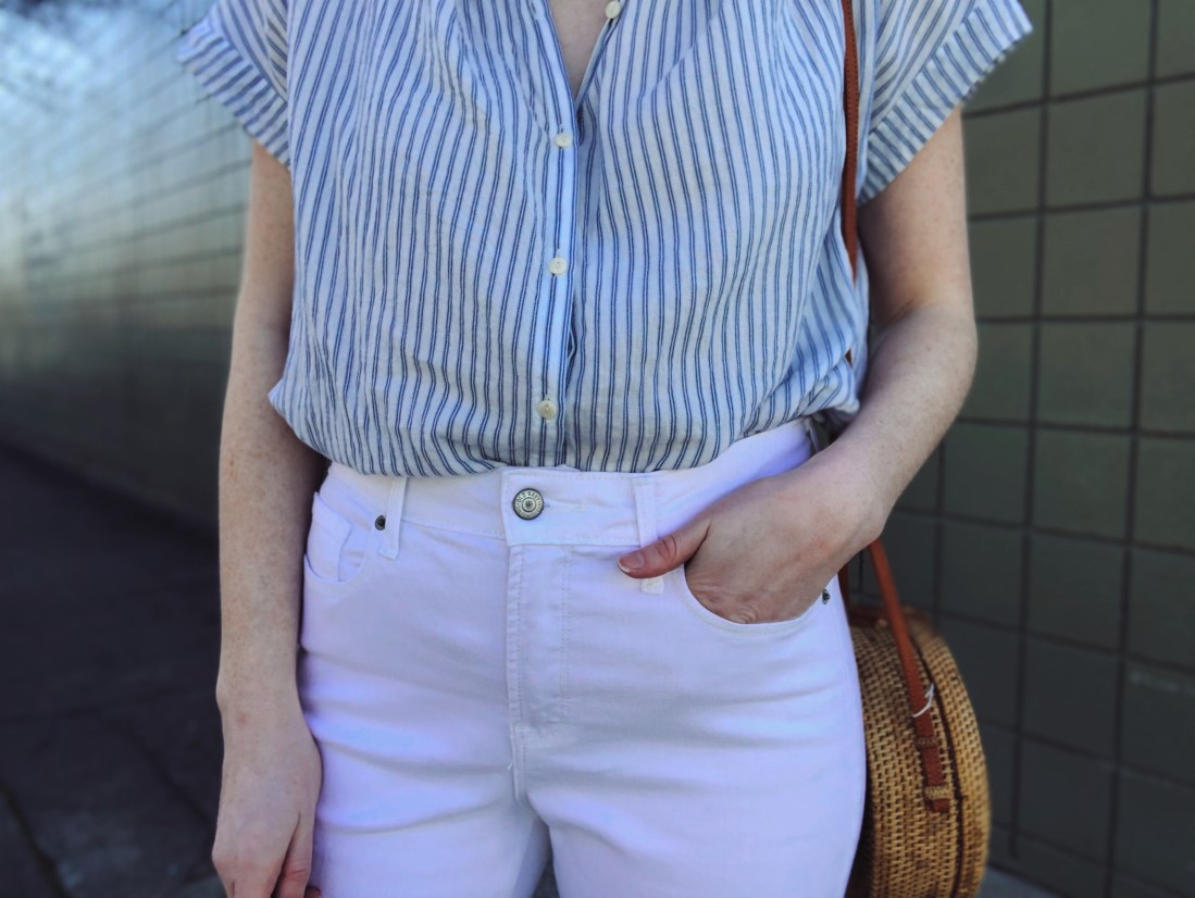 old navy white jeans under $50