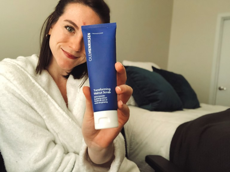 ole henriksen face scrub product review