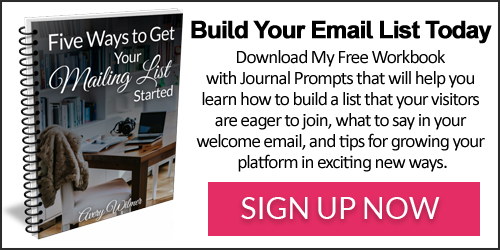Build Your Email List Today!