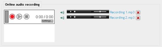 Audio inspreken en als opdracht inleveren in Moodle
