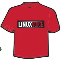 T-shirt LinuxVoice
